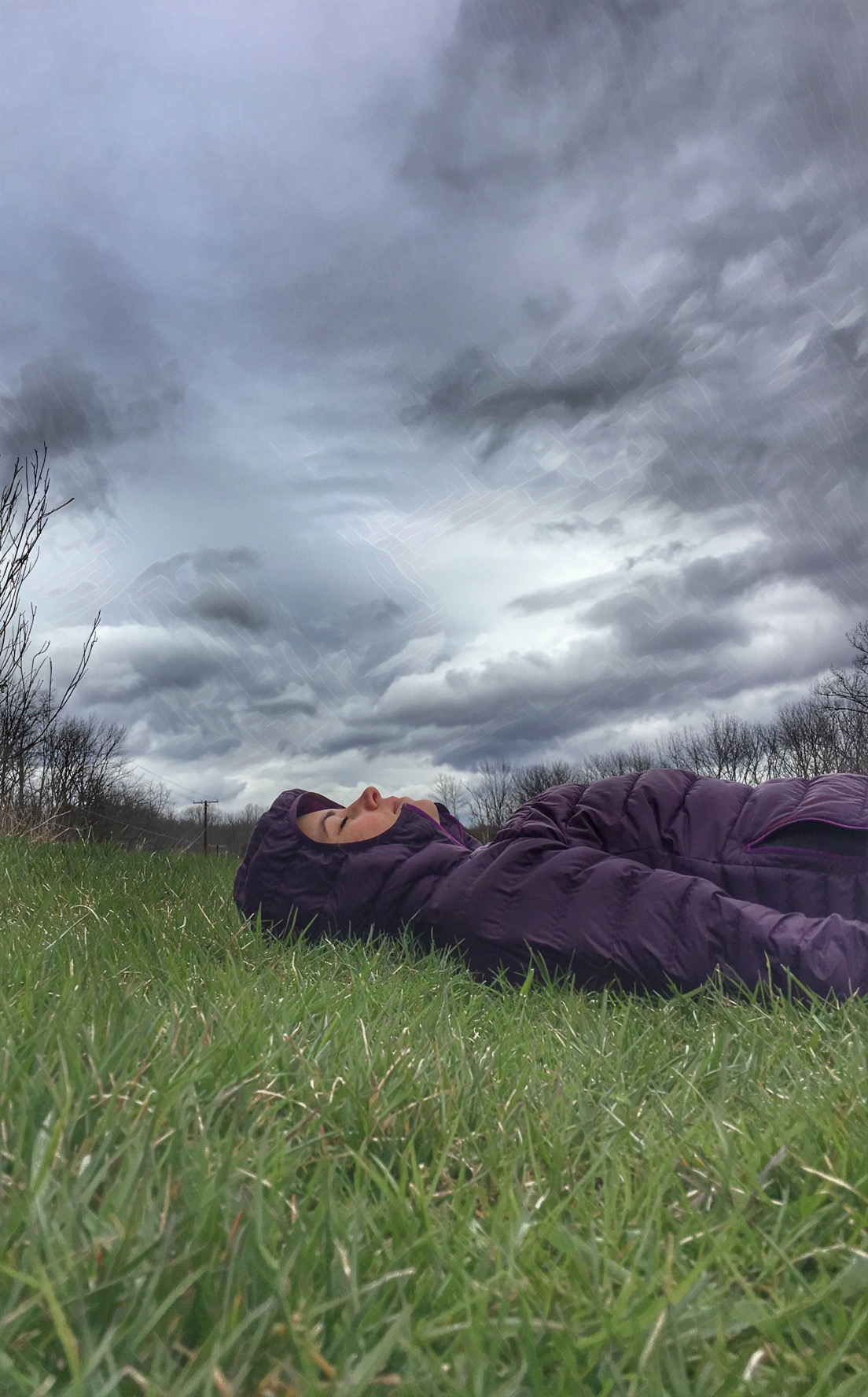 And sometimes all you can do is lay down and breathe deeply into the earth.