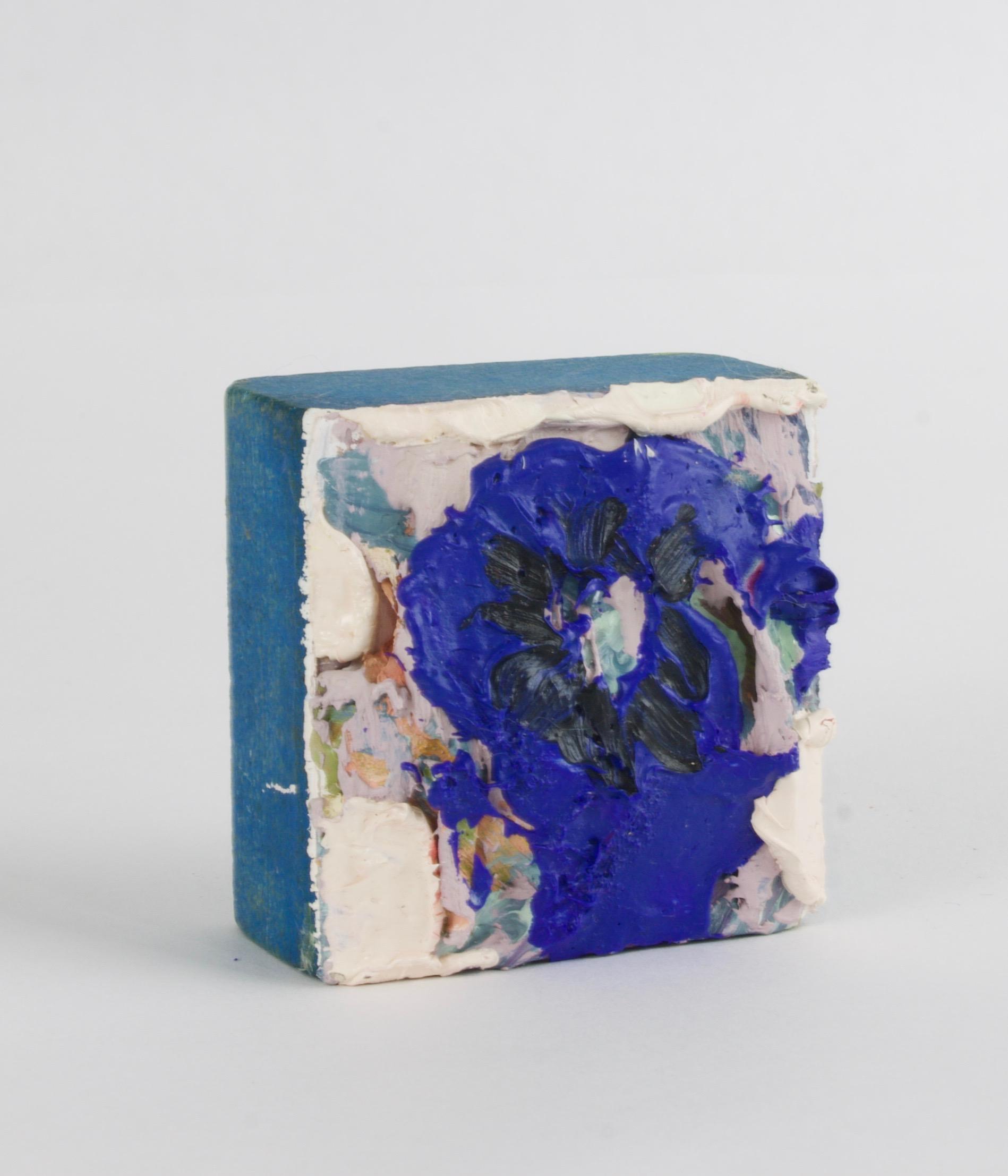 Untitled (Blue Flourish)