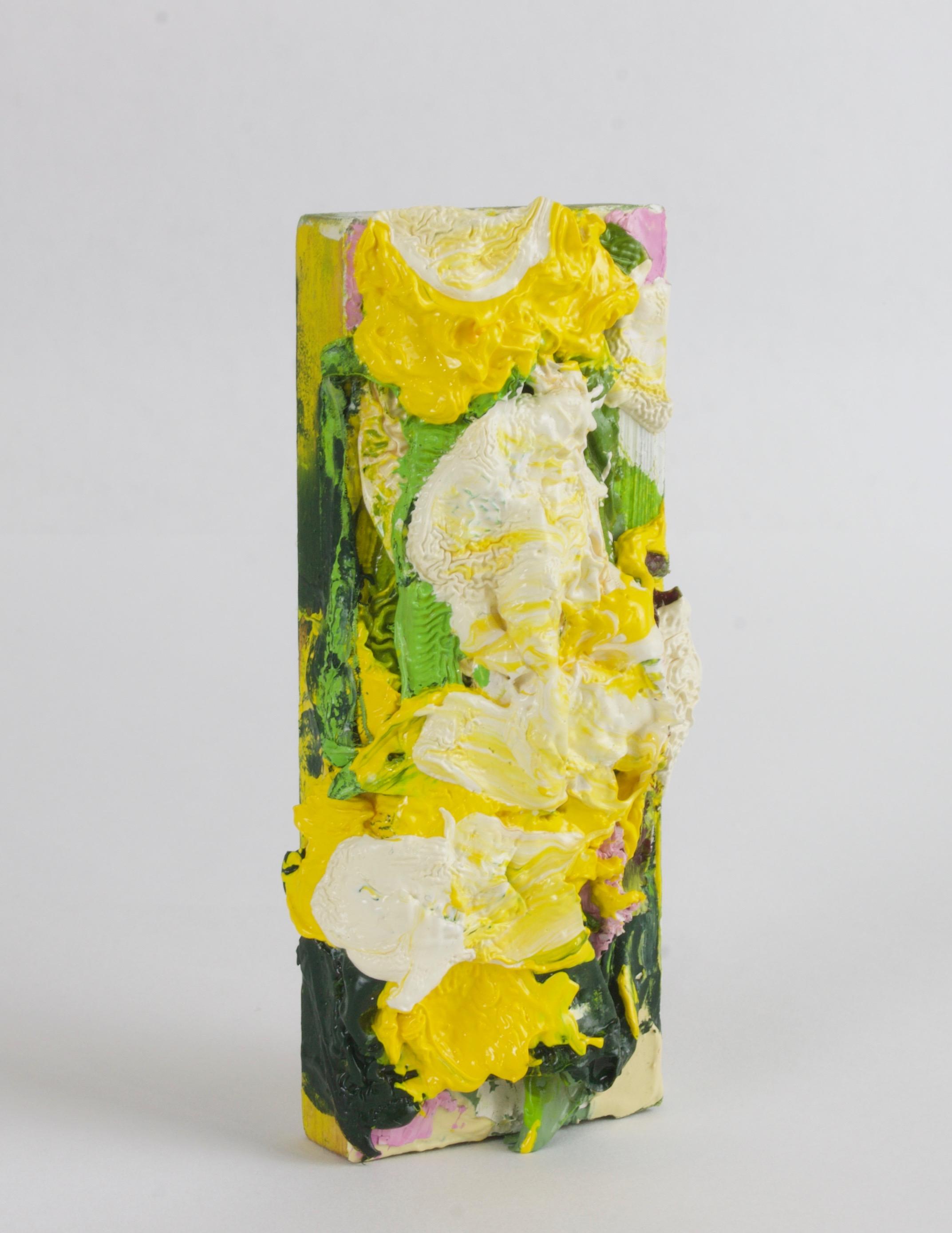 Untitled (Yellow Flourish)