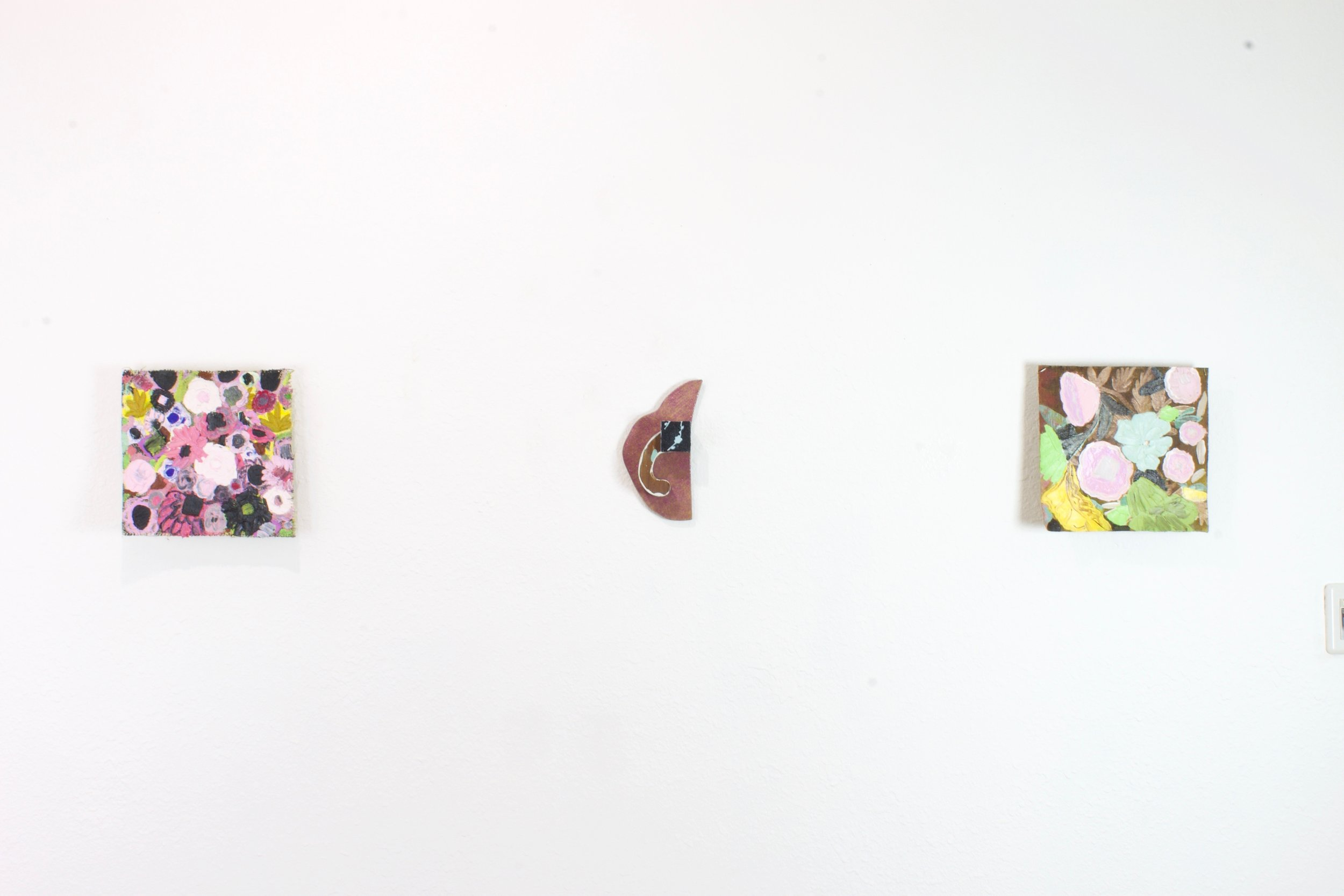 Installation View.  Justyn Hegreberg and Amy Bay at SNAG Gallery