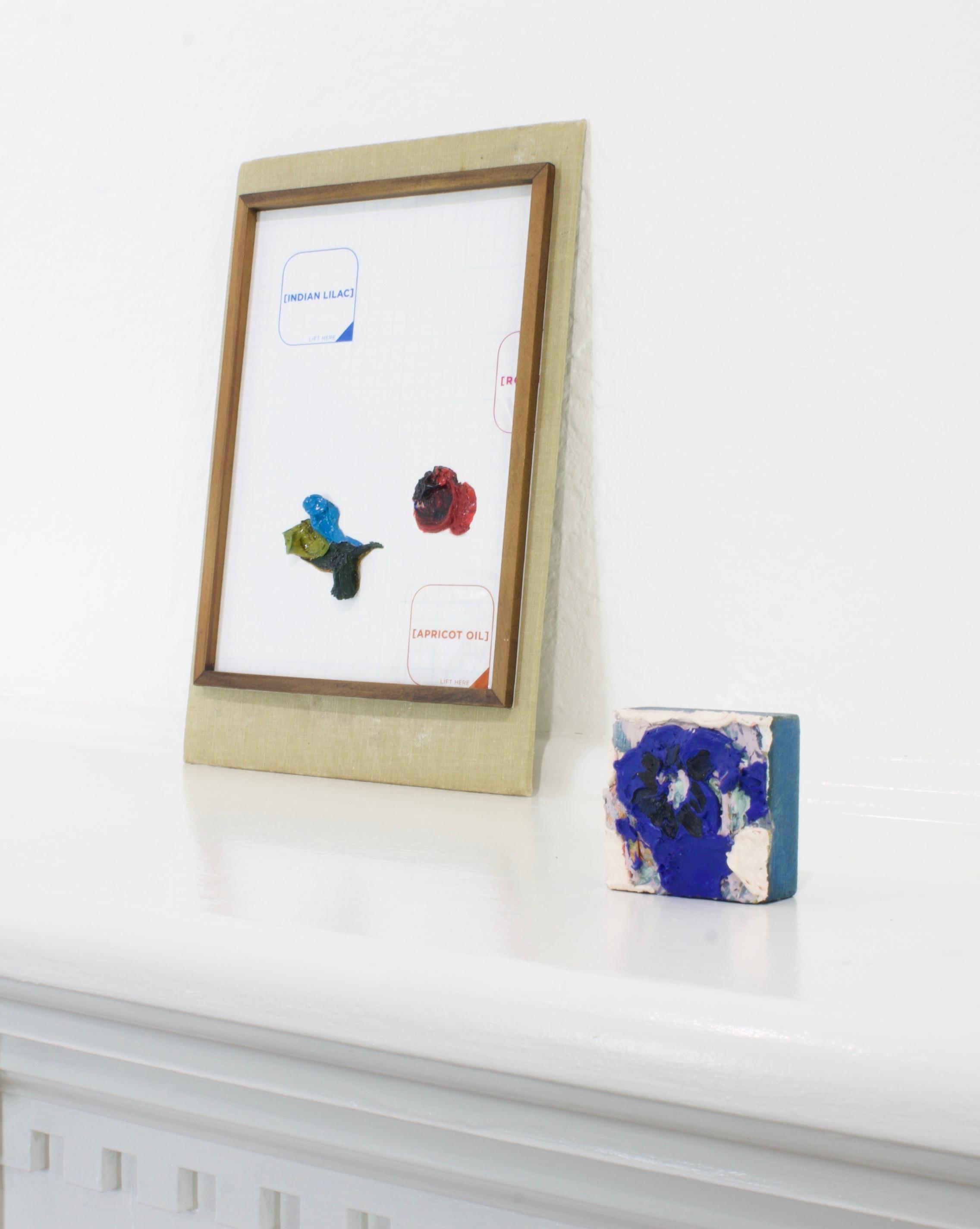 Installation View.  Justyn Hegreberg and Amy Bay at SNAG Gallery