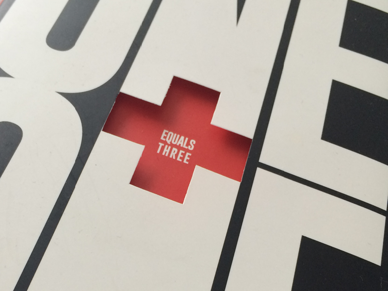 dave trott's one plus one equals three