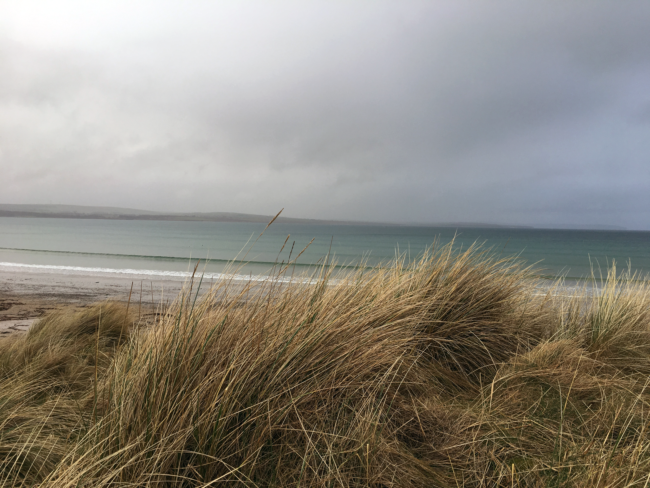 the beach at dunnet bay