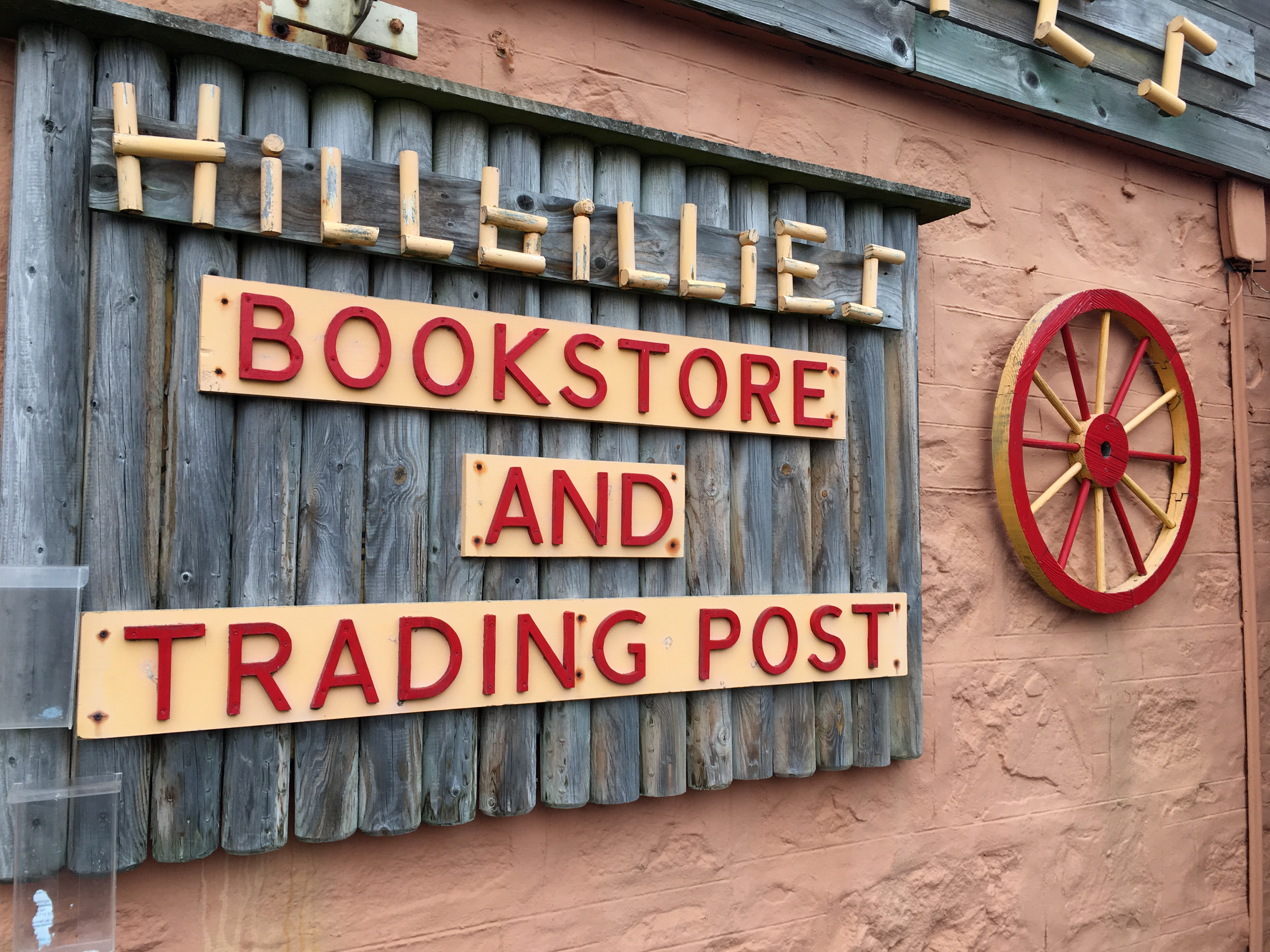 hillbillies bookshop at Gairloch