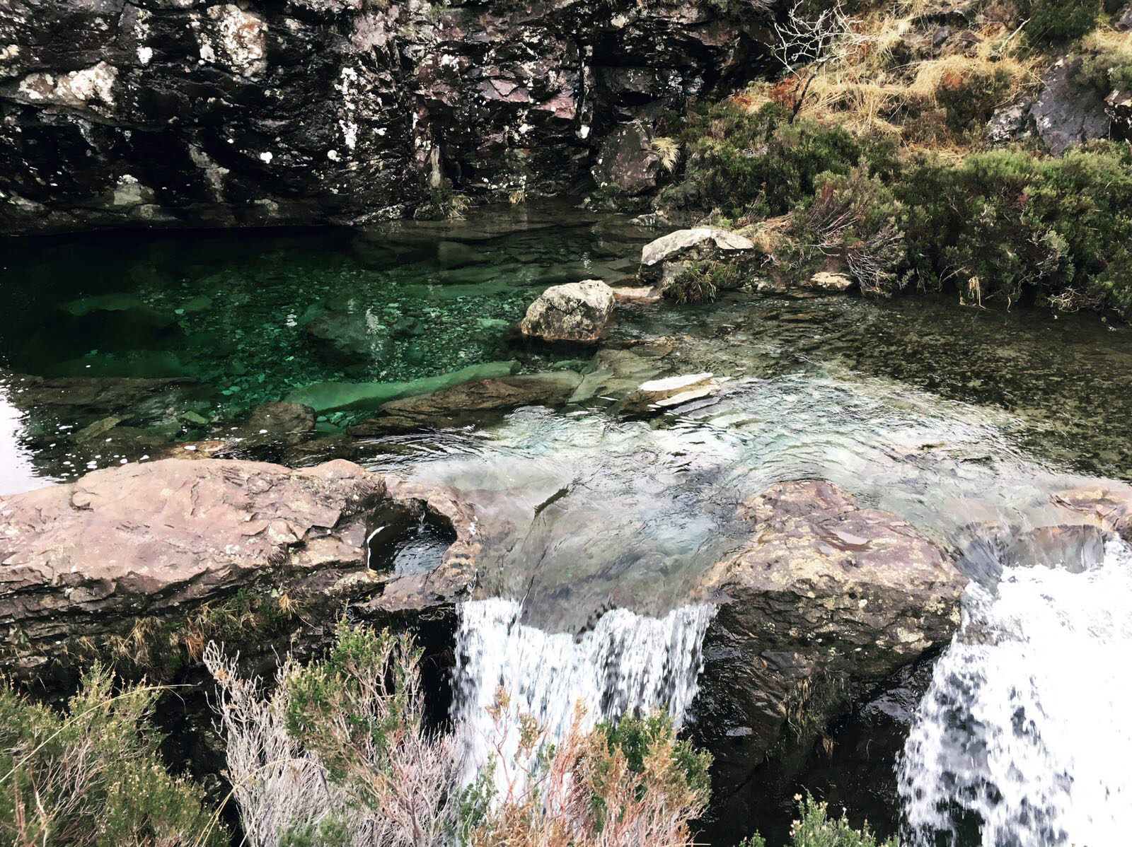 The Fairy Pools of Skye