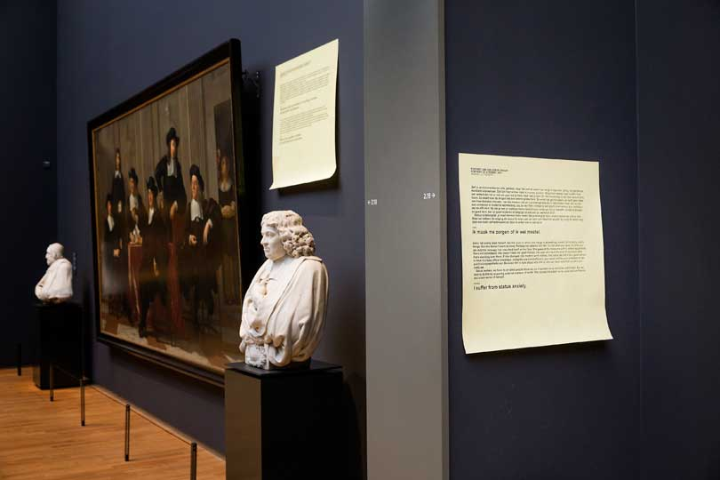 Art is Therapy at the Rijkmuseum, Amsterdam