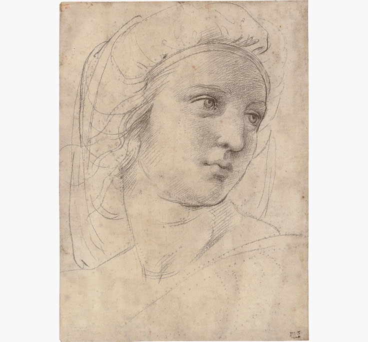 raffaello-sanzio-called-raphael-head-of-a-muse