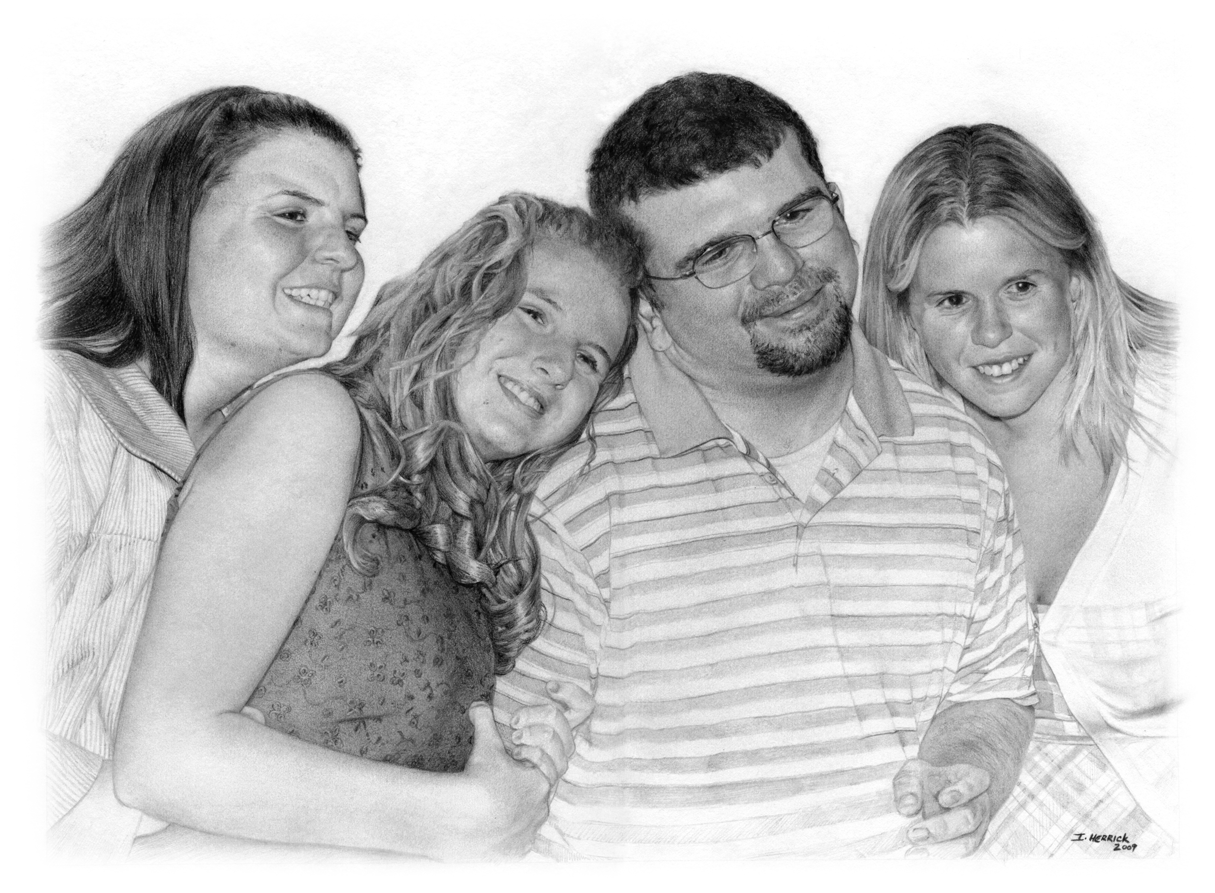 Betsy, Bridget, Mike and Katie