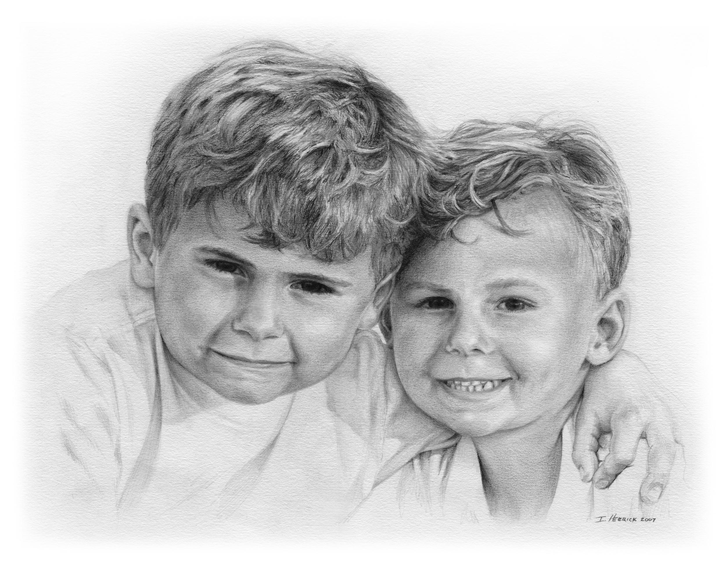 Nathan and Clayton