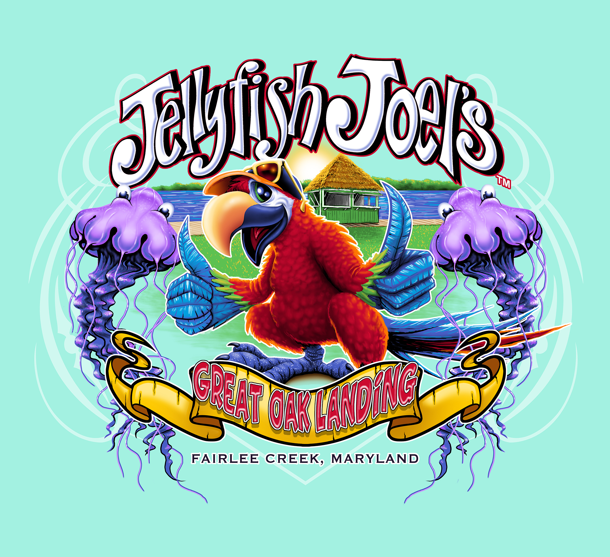 Jellyfish Joel's Parrot Kids
