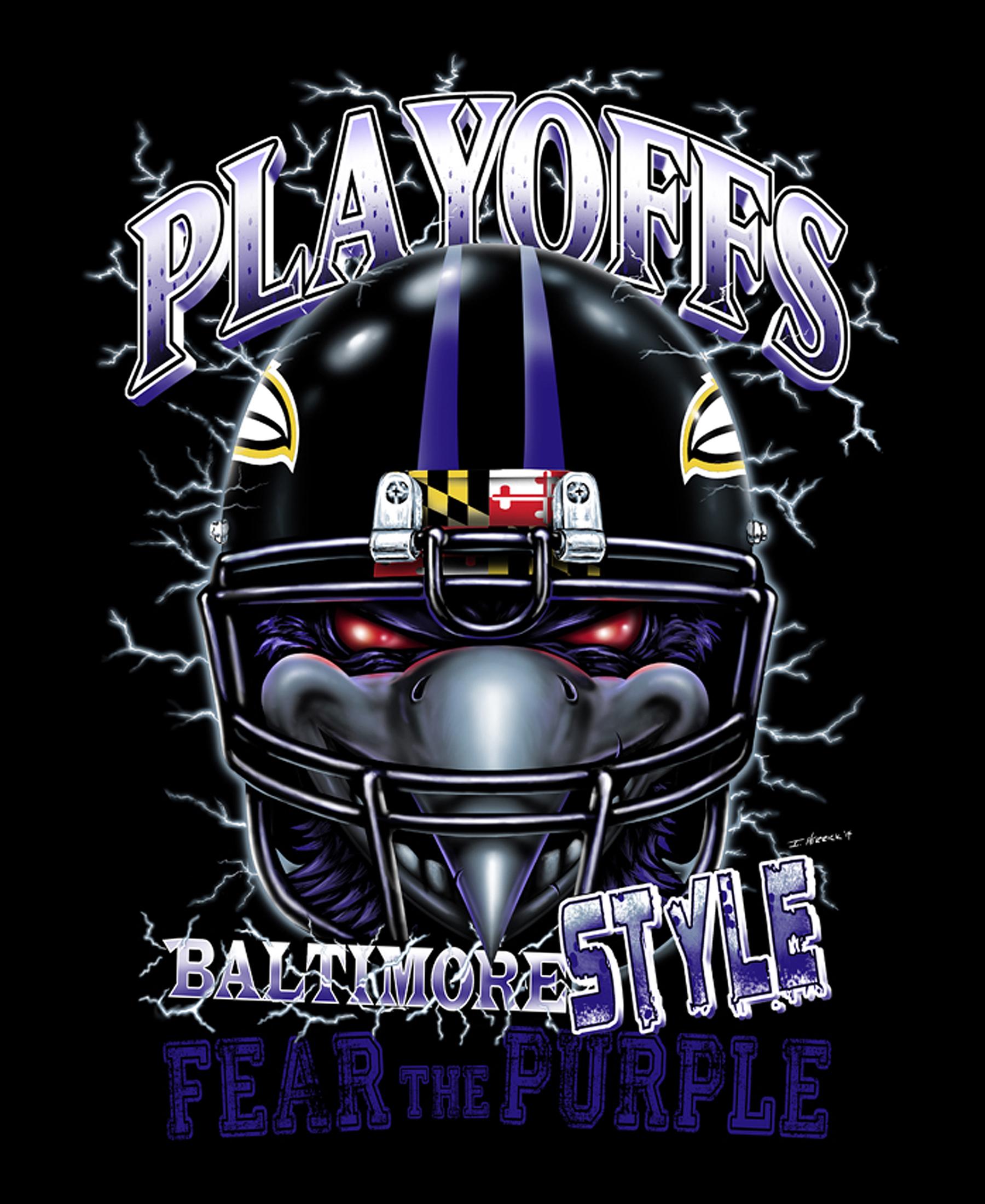 Playoffs Baltimore Style