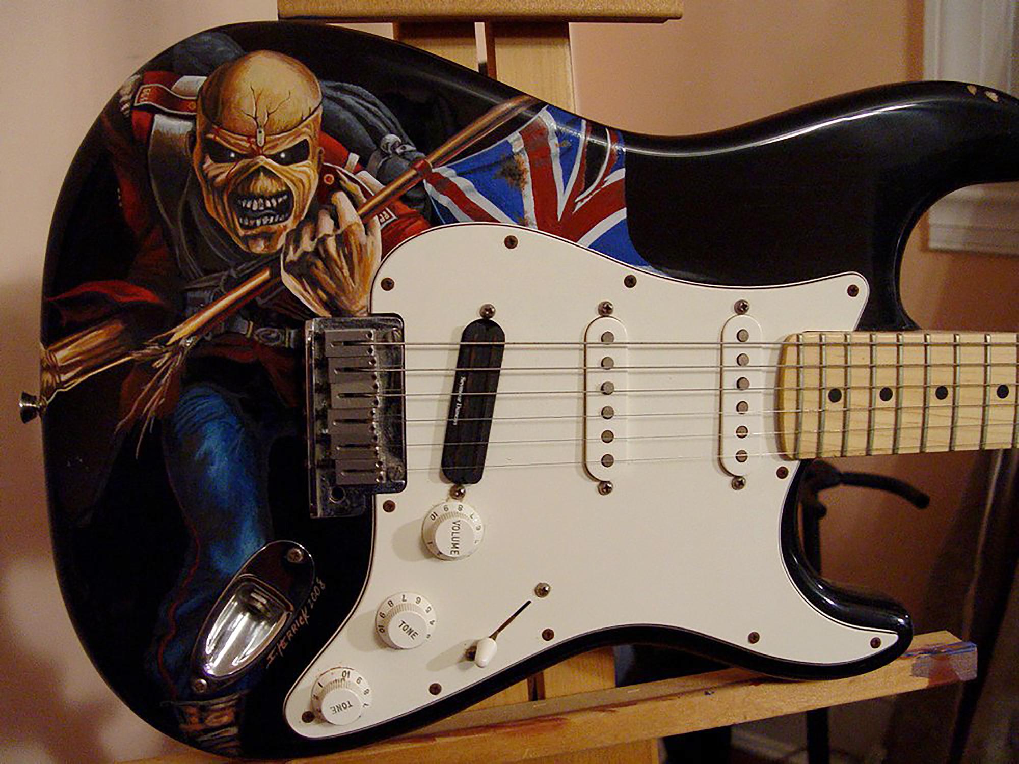 Iron Maiden - 'The Trooper' detail