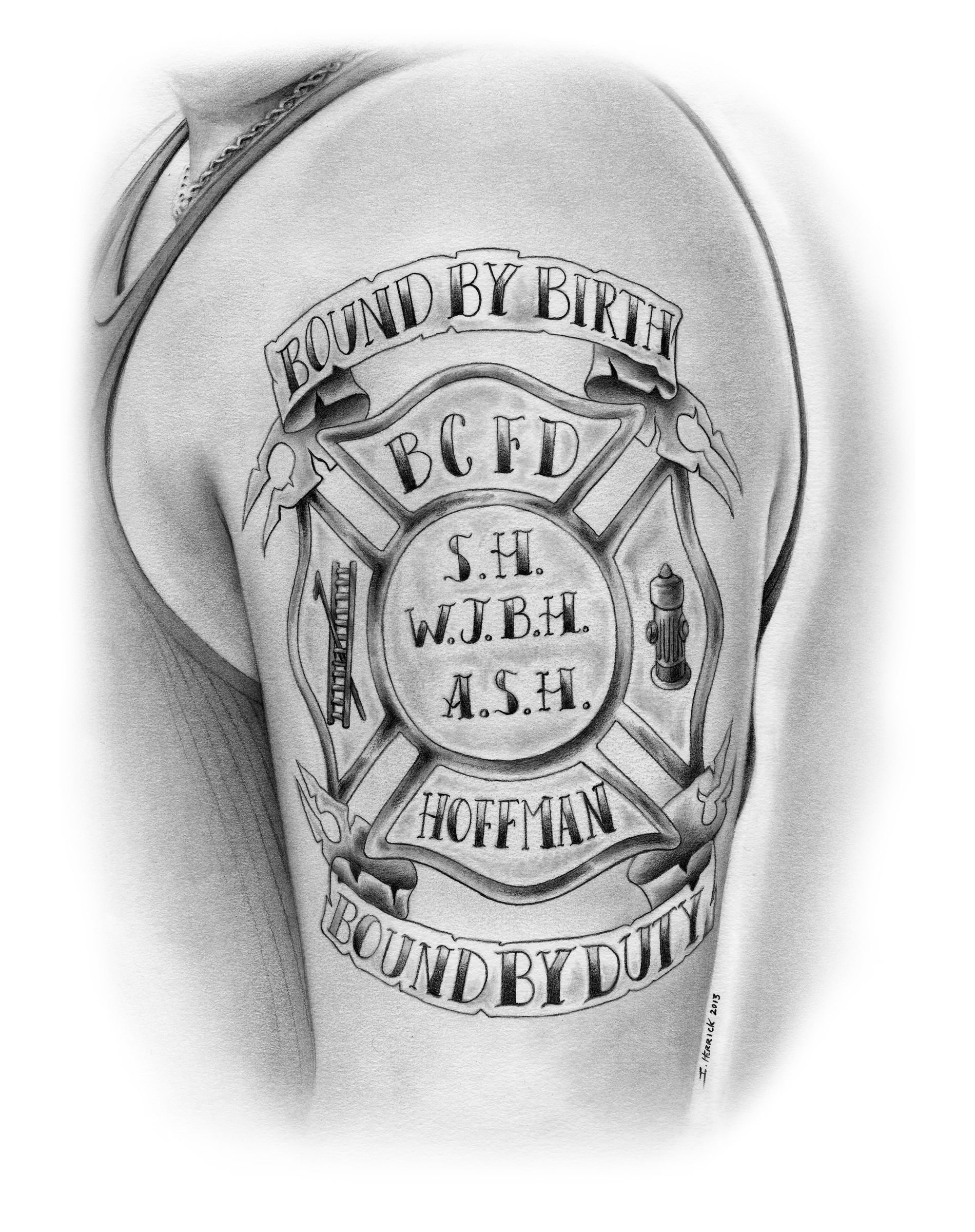 Dearly departed Andy's tattoo