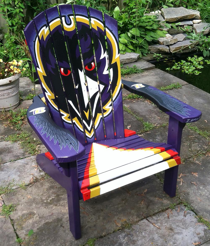 Ravens adirondack chair