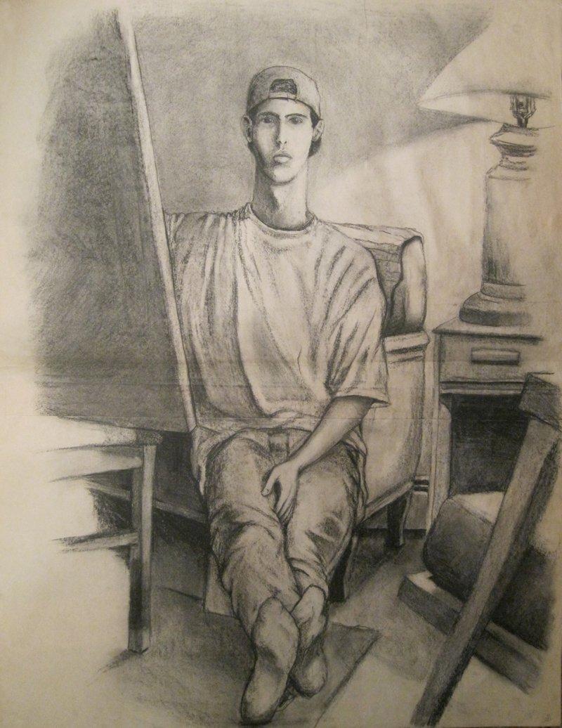 Full Self Portrait 1 '93