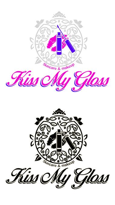 Kiss My Gloss logo