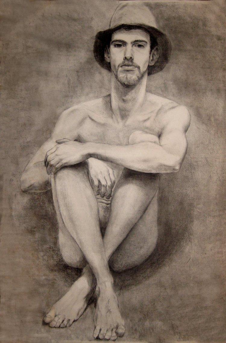 Self Portrait - Life Size Nude