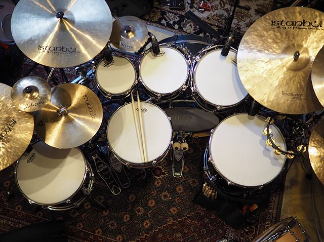 Don's set up for the weekend! #tamadrums