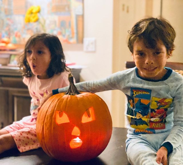 Some say it's just another commercial holiday, to fill people's pockets. I say it's one extra opportunity to see my kids' eyes light up like gold. It's a chance to make memories, laugh out loud and have lots of fun! I hope you all have a blast making those magical moments with your families today! #happyhalloween #familytime #pumpkinseason #momlife #mommymoments #proudmom #momblog #ispeakmom
