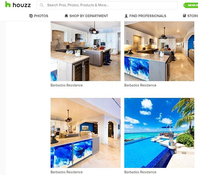 And we're live! Our #barbados project is up and available to see for yourselves. Click the link in the bio. Let us know what you think in the comments💭 🏝 #millwork #houzz #designer #islandlife #socialmedia #feature #residential #blue #ocean #tile #indooroutdoor #designerlife #interiordesign
