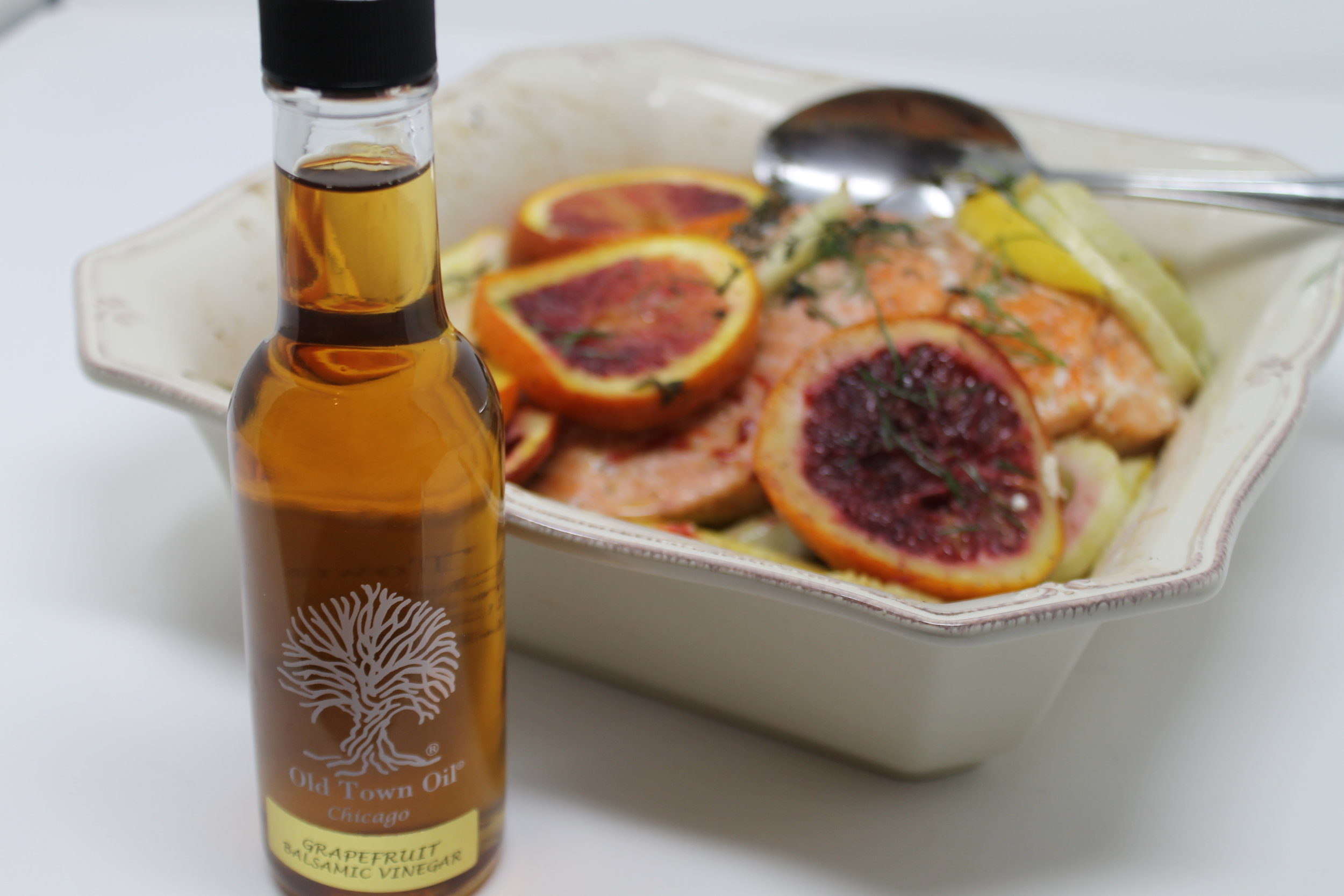 Old Town Oil Grapefruit Balsamic Slow Roasted Salmon.JPG