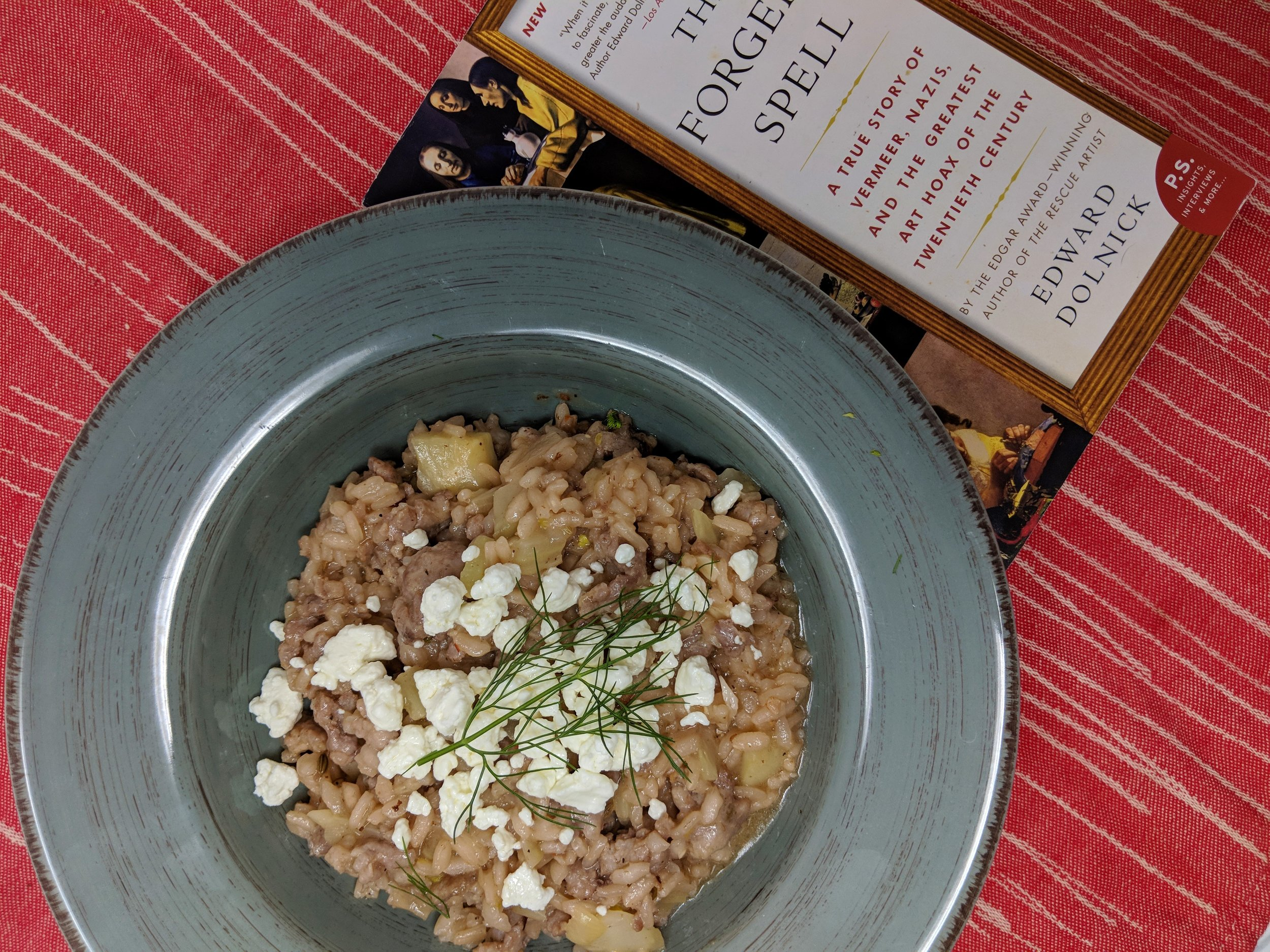 Fennel Risotto and The Forger's Spell.jpg