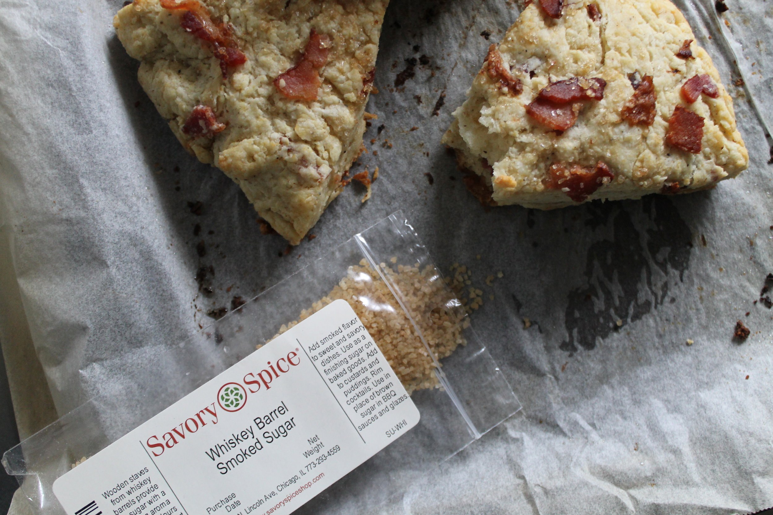 Smoked Maple Scones featuring Savory Spice Shop