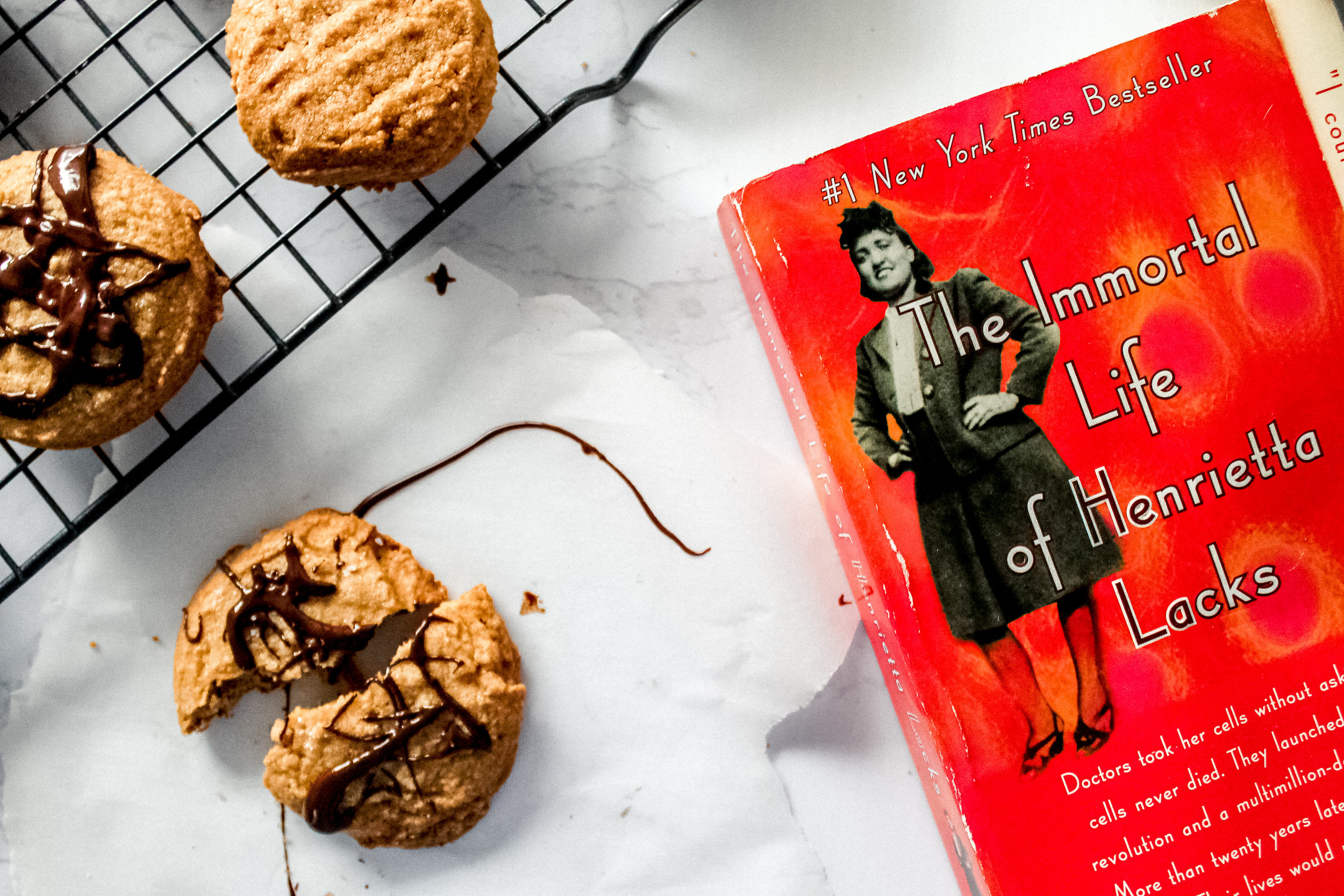 The Immortal Life of Henrietta Lacks and peanut butter cookies