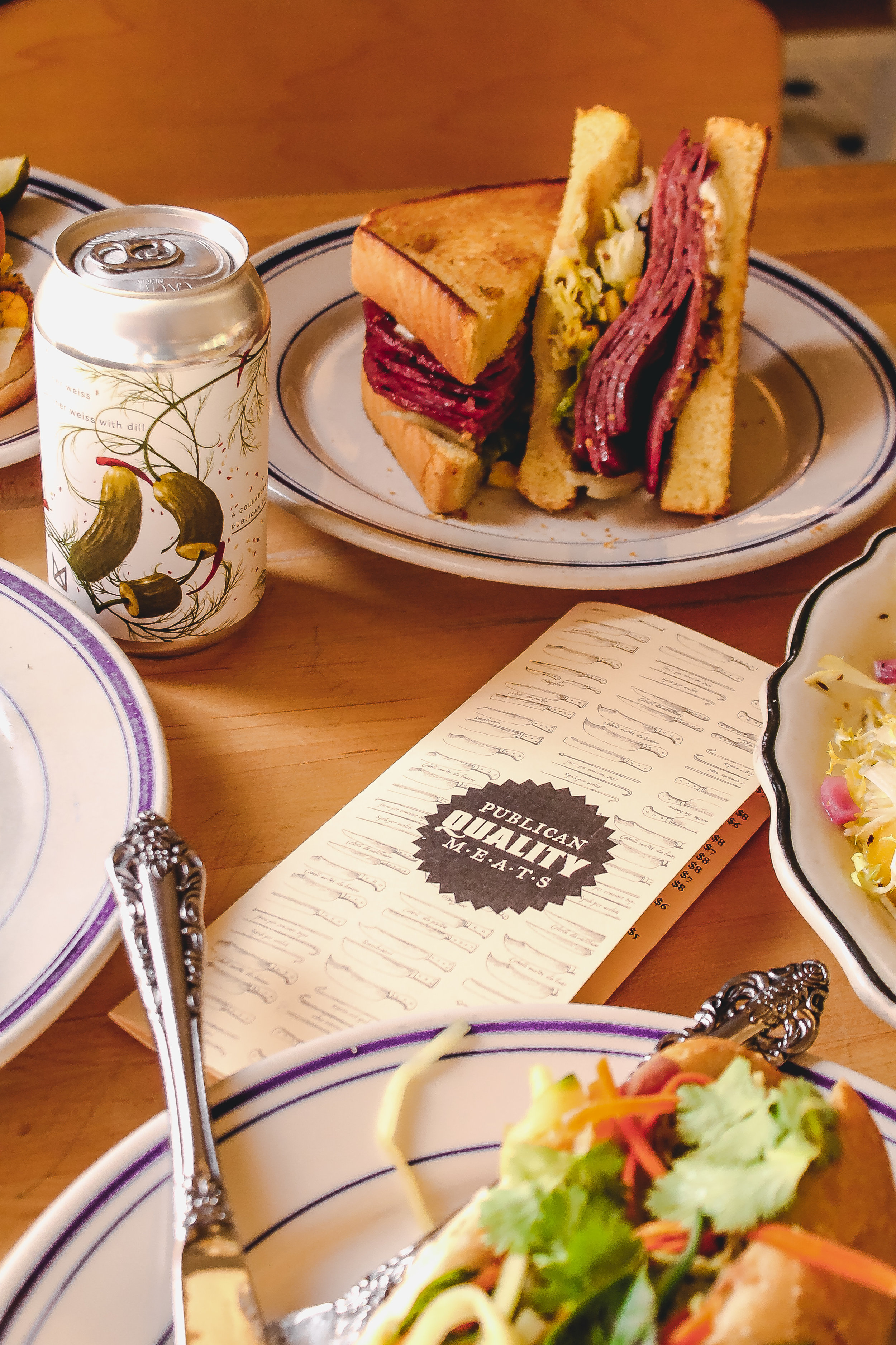 Publican Quality Meats Collaboration with Marz Brewing