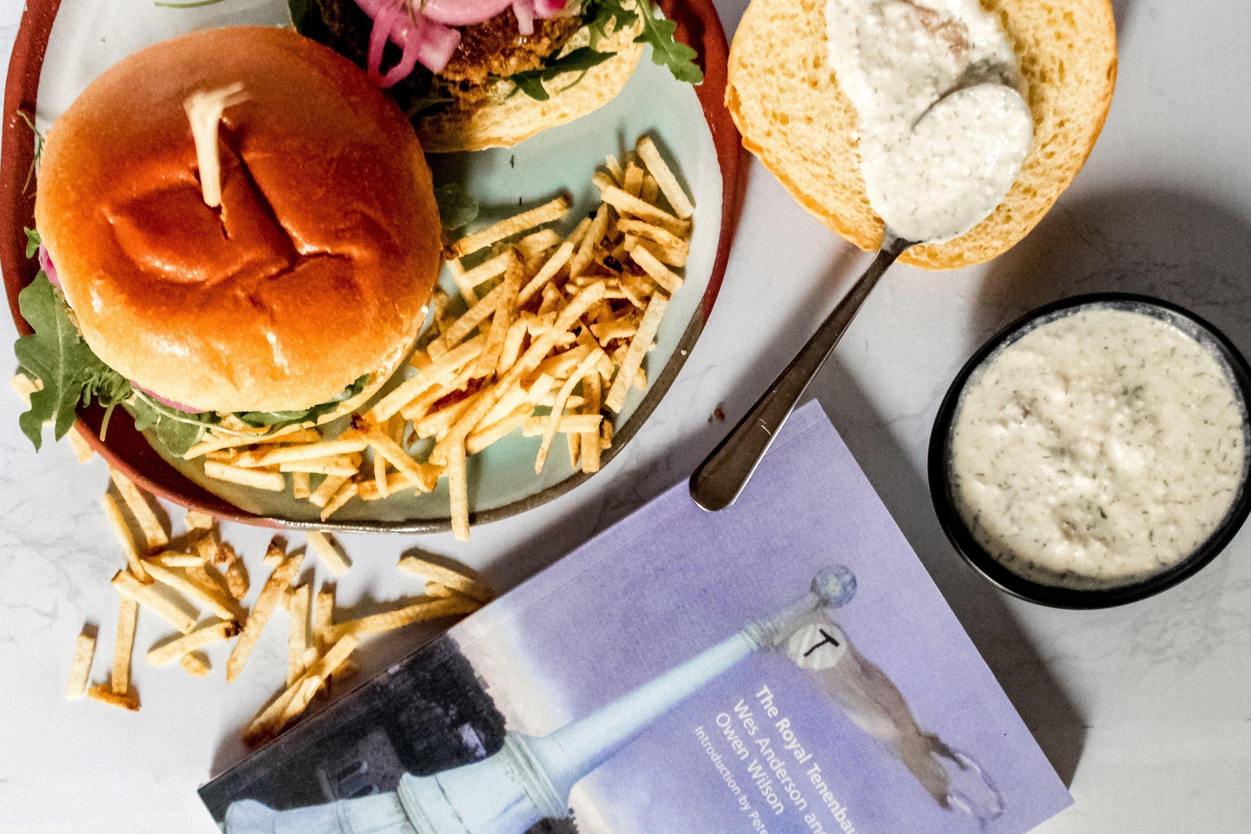 Veggie Burgers and The Royal Tenenbaums