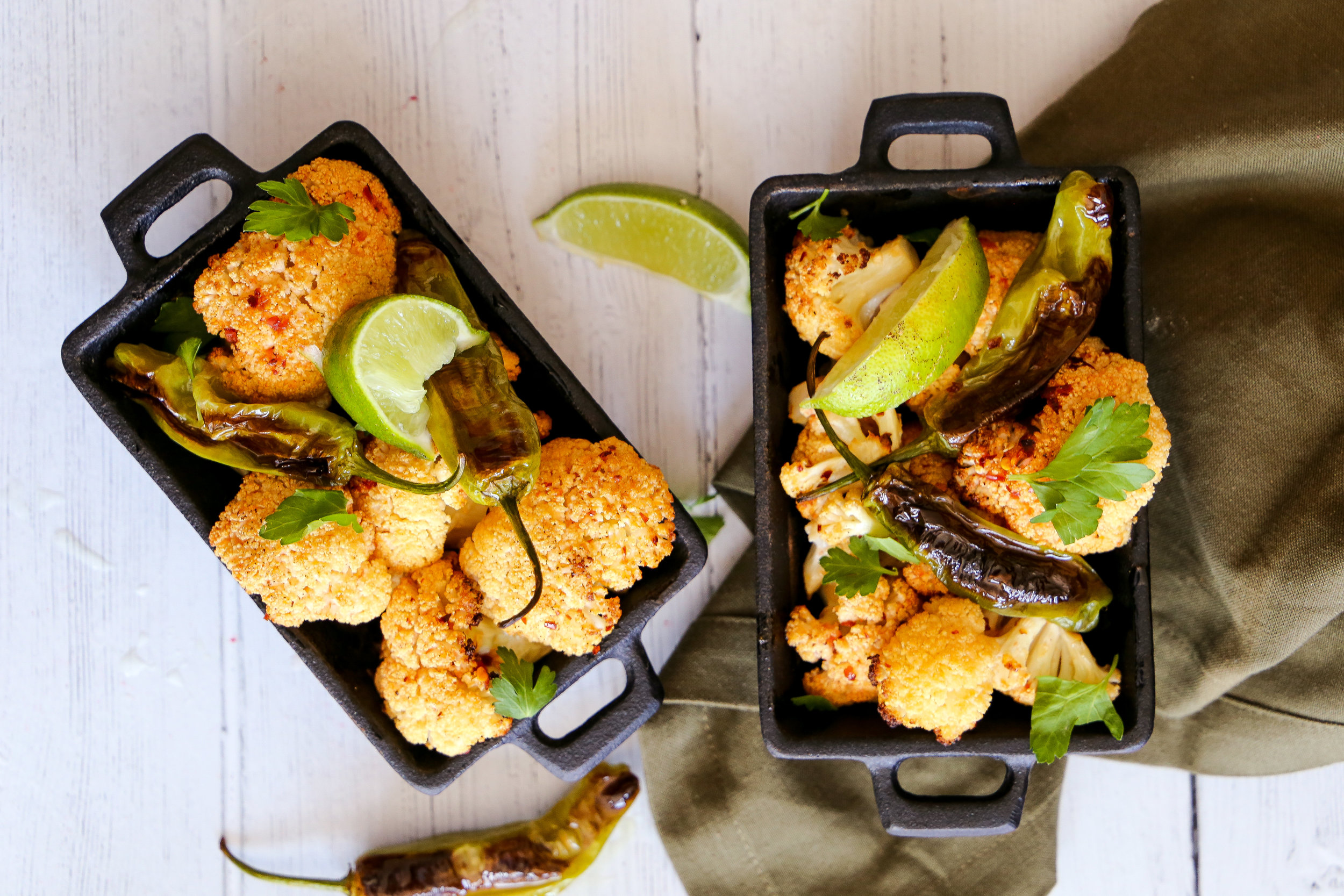 Spicy Cauliflower Wings - Because vegetarians just wanna have fun.