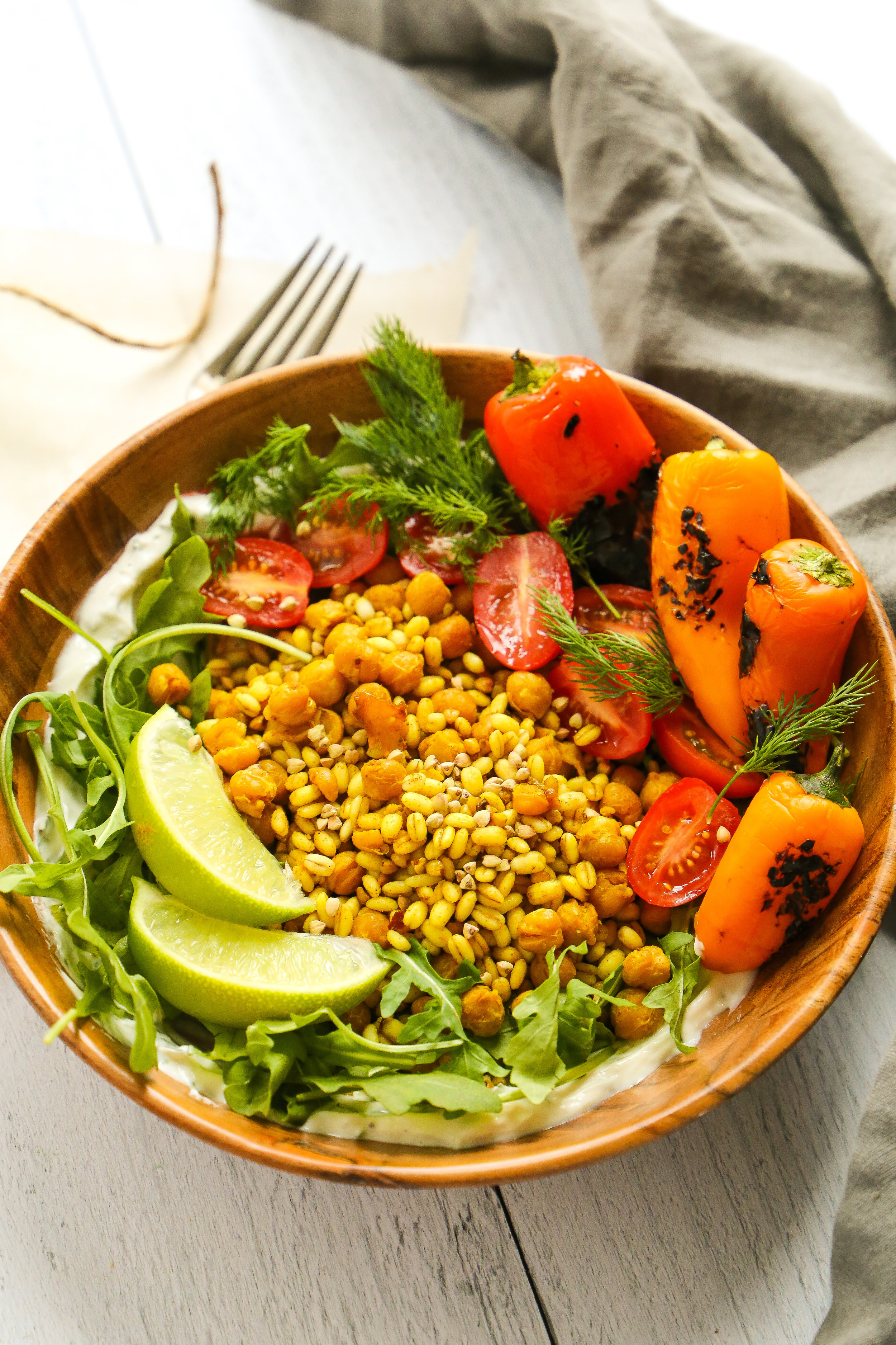 Turmeric Grain Bowl - Basically the sun in a bowl.