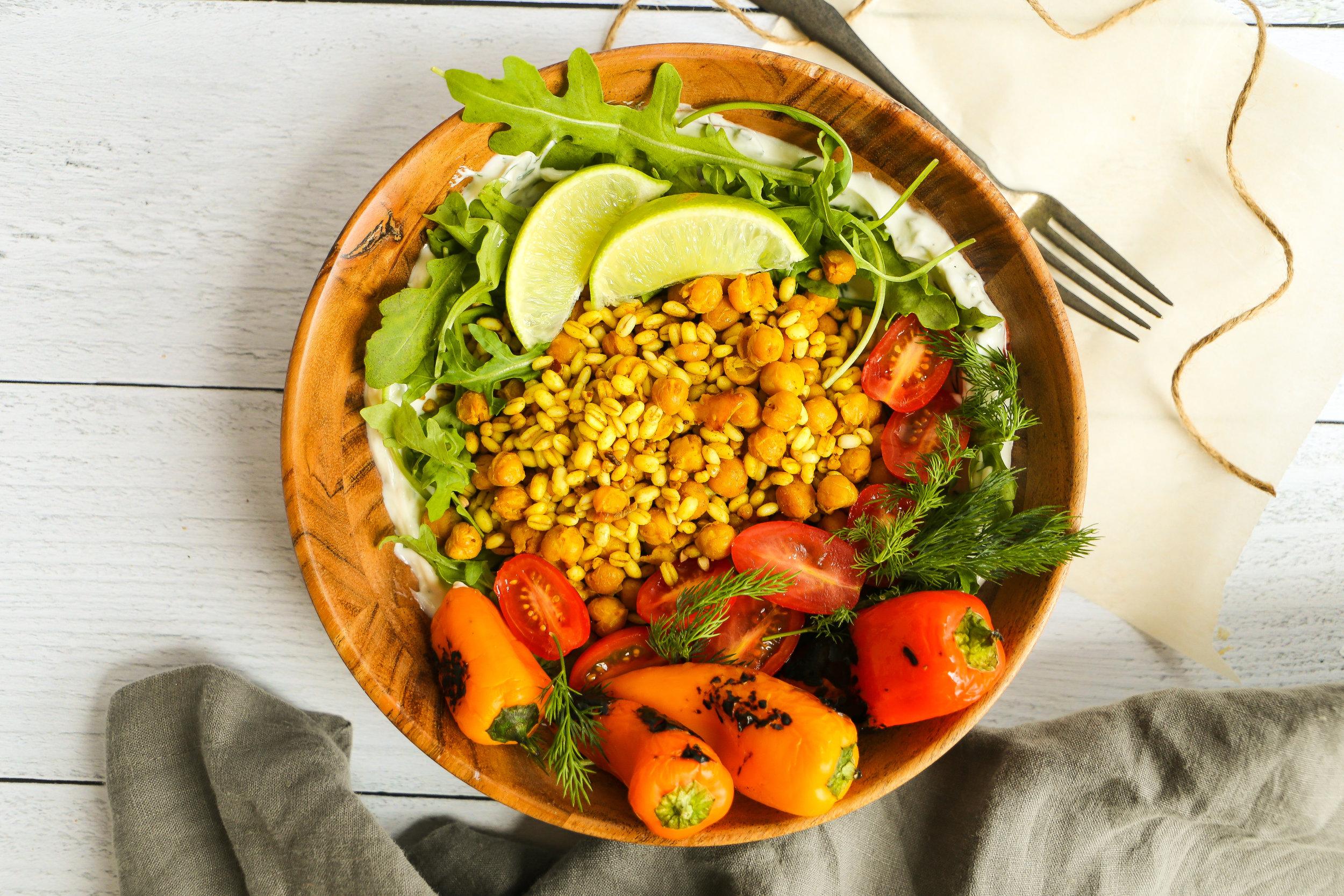 Turmeric Grain Bowl