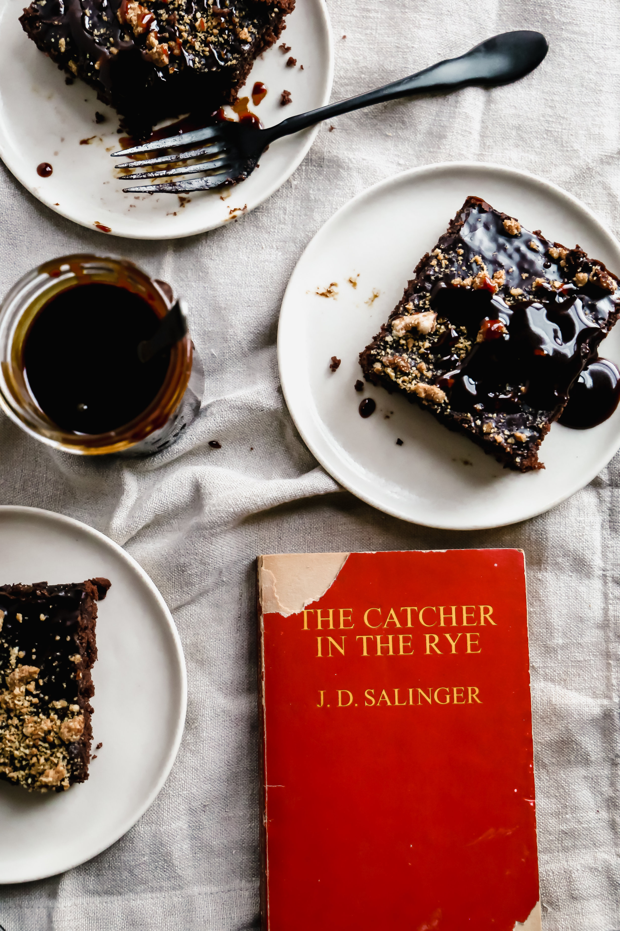 Texas Sheet Cake and The Catcher in the Rye