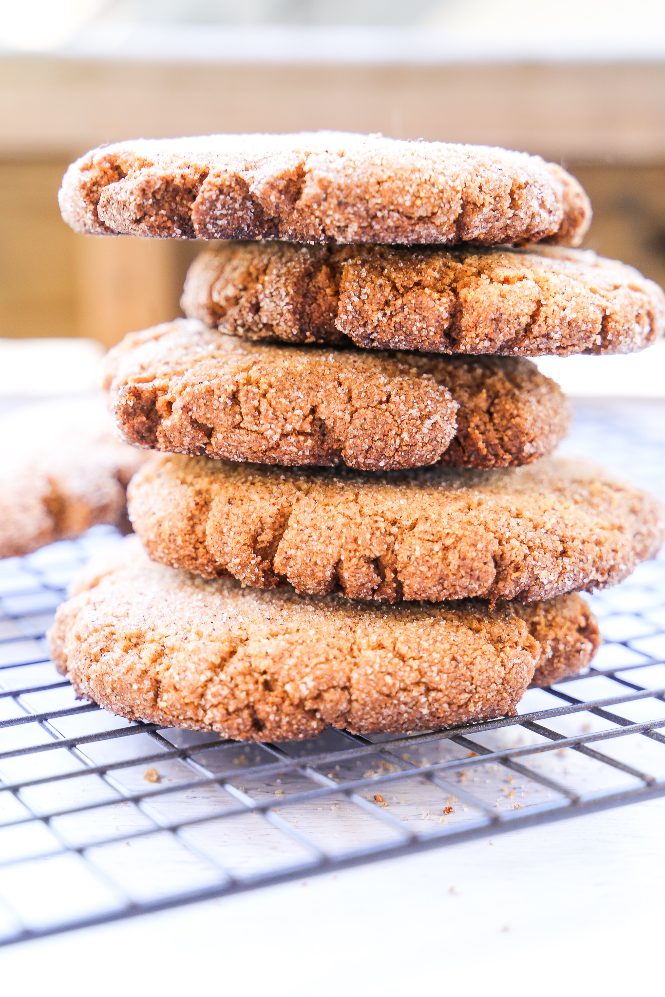 Buckwheat Snickerdoodles - Your favorite cookie gets a very 2019 makeover.