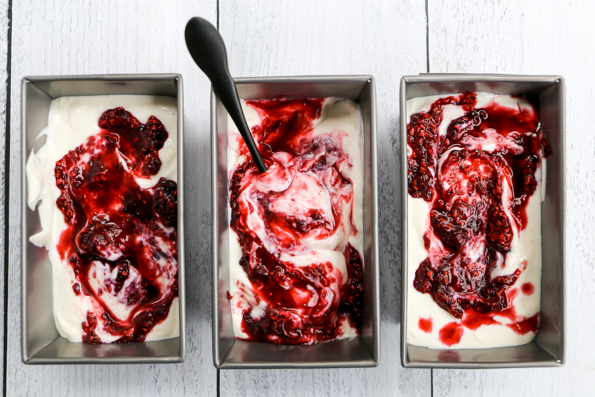 Roasted Strawberry Frozen Yogurt - Summer in a bowl and also the only thing I want to eat these days.