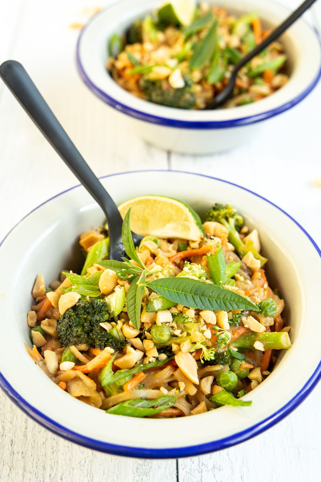 Vegan Pad Thai - Skip the takeout (and the plastic waste!) with this gem.