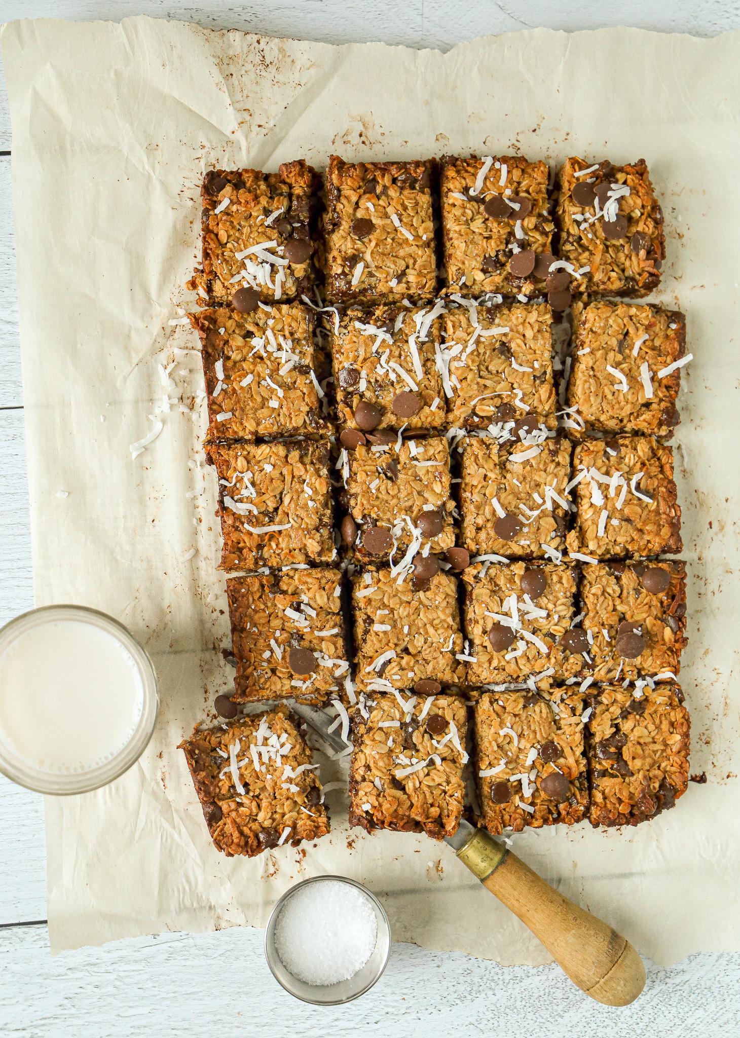 Granola Bars - An easy snack. Or dessert. Or breakfast.