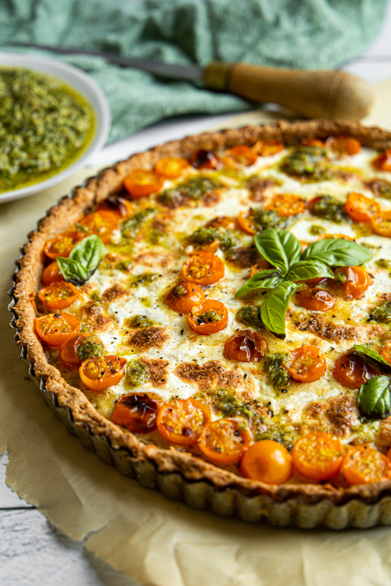 Tomato Tart - Bascially pizza, but with more butter.