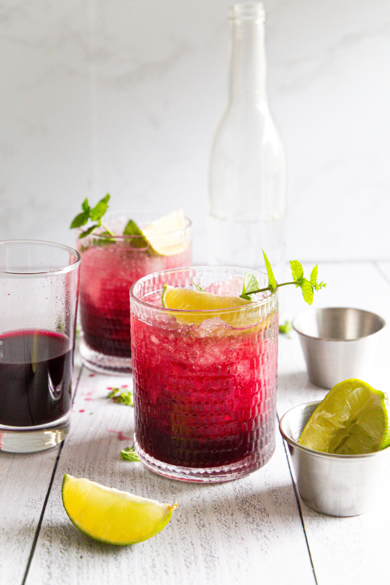 Blueberry Mojito - A final ode to day drinking in the summer.
