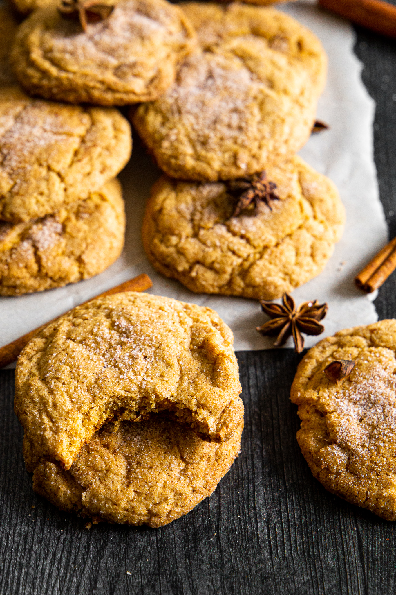 Pumpkin Snickerdoodles - Fall has arrived, and these cookies are proof!