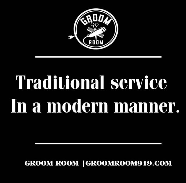 www.GroomRoom919.com ✨💈✔️💯 __________________________________________________________________ 💈Groom Room Barbershop💈 | 2716 Chapel Hill Rd ➡️ {tap the link in our bio or call 919.797.1286 for appointments}  #GroomRoom919 #HairUnits #Facials #MaleGrooming #GreatService #GoodVibes #Satisfaction #Confidence #TakeCare #SelfPreservation #LookGood #BullCityBarber #Barbers #Barbershop #BarbersWorldWide #NCBarbers #RDUBarbers #DurhamBarbershop #DurhamBarbers  #BarberLove #Haircut  #Bullcity #Durham #RDUBarbers #DurhamBusiness #DurhamHair #NorthCarolina #919 #919Barbers #BarberLife