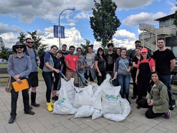 PNI volunteers took part in the Great Canadian Shoreline Cleanup to help reduce waste in our community.