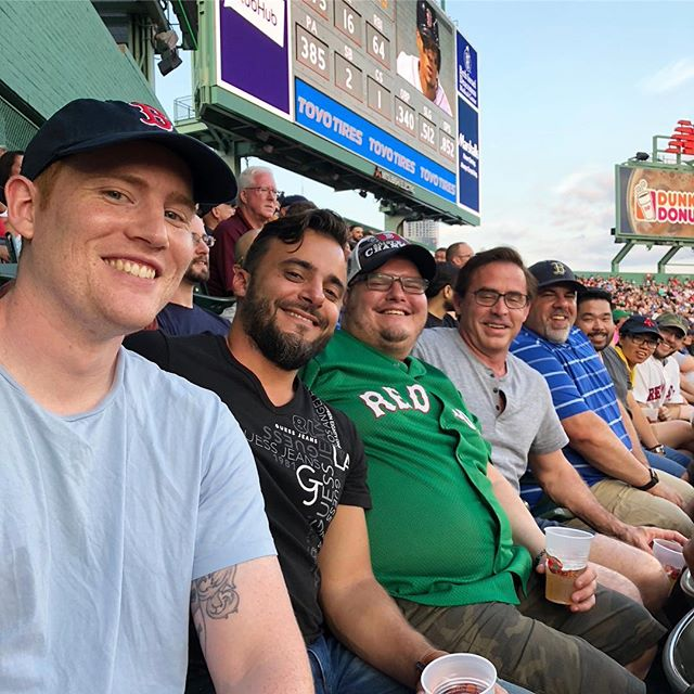 What's your top team building idea? ⚾️ PNI's Framingham team hit up a Sox game, the Development team enjoyed a classy dinner and the Marketing/AM team cycled the seawall and grabbed a scoop 🍦 . . . #WeArePNI #teambuilding #goals #redsox #wineanddine #seawall #cycling #outing #outofoffice #workperks #framingham #vancouver #stanleypark #techjobs #fueledbypassionandfun