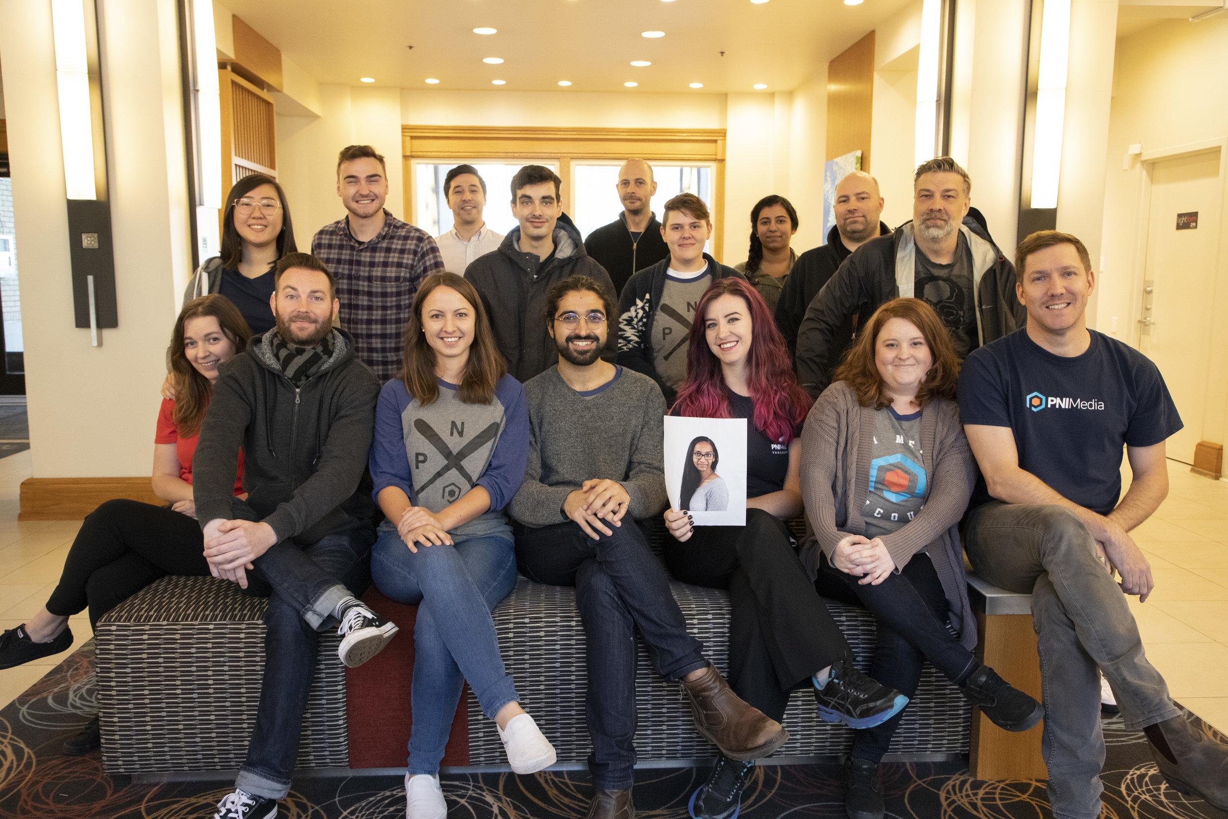 The all-star Culture Club team!  Top: Michelle, Daniel H, Daniel K, Justin, Steve, Kayla, Sayyeda, Geoff, Troy. Bottom: Samantha, Devon, Carlee, Sam, Fedora, Amanda, Laura, Andre.