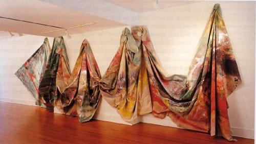 Carousel Form II.  Sam Gilliam, 1969