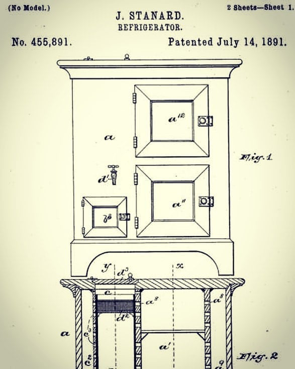"""Follow @duketogo313 Regrann from @duketogo313 -  Today in 1891, African American-J. Standard receives the patent for the refrigerator.✊🏾✊🏾 """"Know yourself and your history...they still tryin to keep that sh*t a mystery."""" -Ohkang.  #togoknows #history #icons #inventors #inspire #motivate #uplift #excellence - #regrann #blackmensguide #blackmen"""