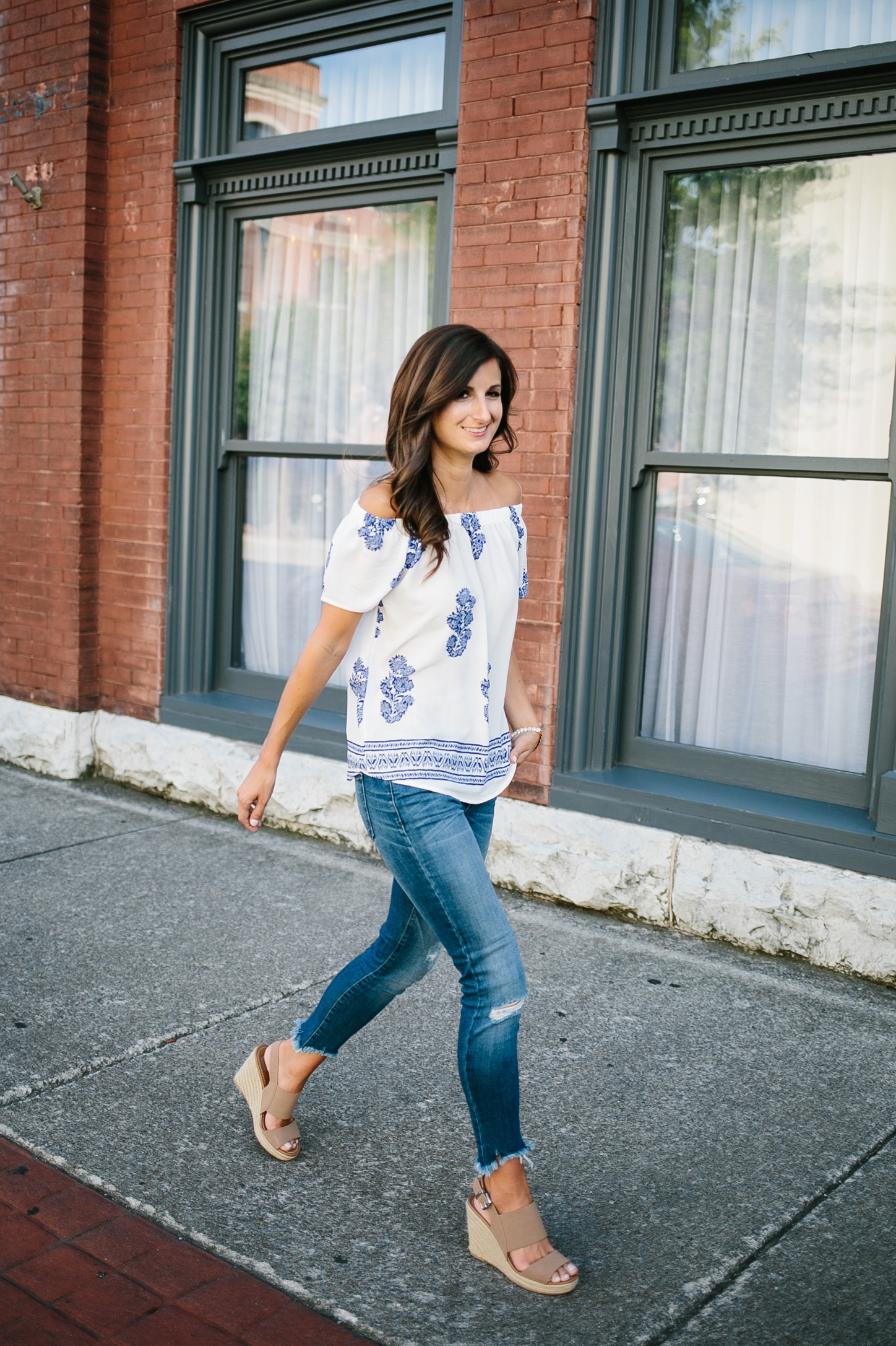 Photography by  Madi Flournoy Henderson  || Jeans & Top:  Fab'rik