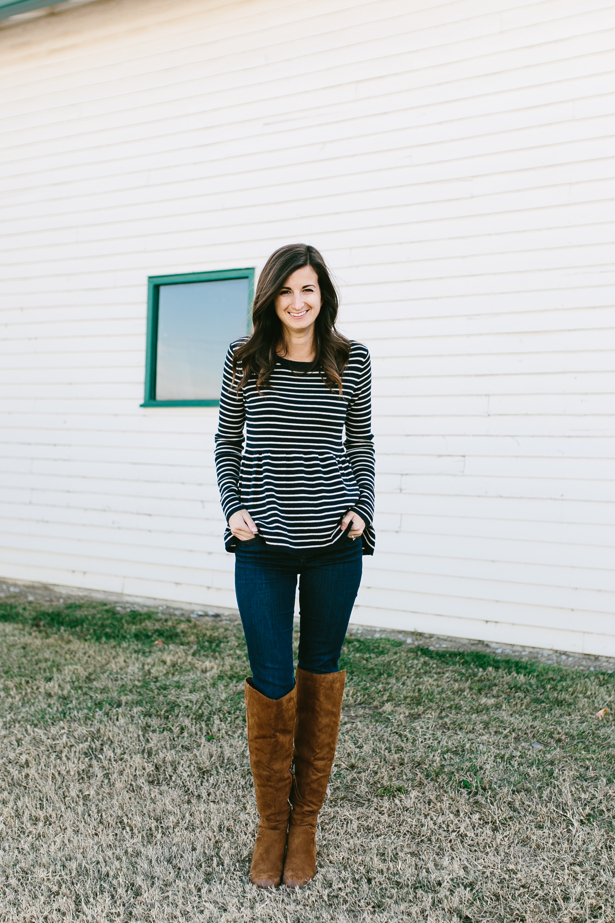 Photography by  Madi Flournoy Henderson  || Top:  Hinge  || Shoes:  Target  || Jeans:  Madewell