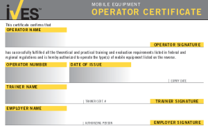 Heavy Equipment Operator Training And Certification In